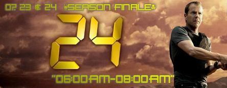 """§ 24   07X23 & 24 – """"06:00-07:00AM"""" & """"07:00AM:08:00AM"""" [Season Finale]"""