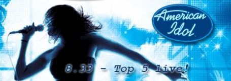 American Idol 8   Top 5 Live!